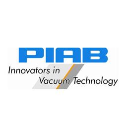 Cox Novum logo PIAB innovators in vacuum technology aandrijftechnische componenten