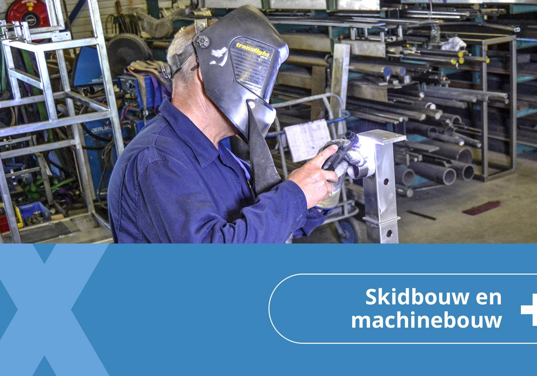 Skidbouw en machinebouw knop homepagina