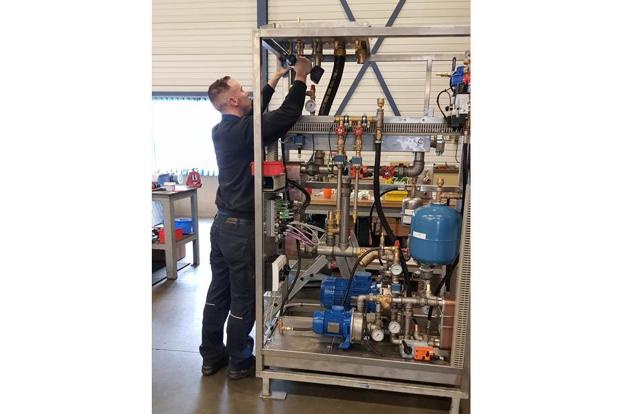 Reparatie en onderhoud van proces Skid systemen